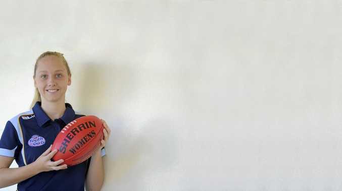 CHOSEN: Grafton AFL player Georgia Breward.