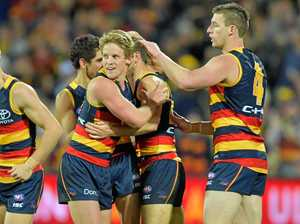 WATCH: Sloane edges Dangerfield in strong Crows win