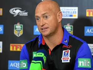 Knights coach fires up at post-match press conference