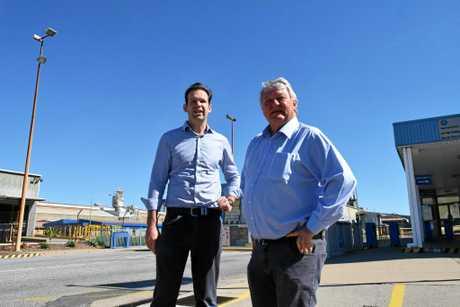 PICTURED: Senator Matt Canavan with LNP member for Flynn Ken O'Dowd.