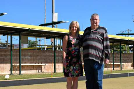 OUT OF OPTIONS: Gladstone RSL Bowls and Citizens Club events manager Sue Wilson and secretary Terry Boyd.