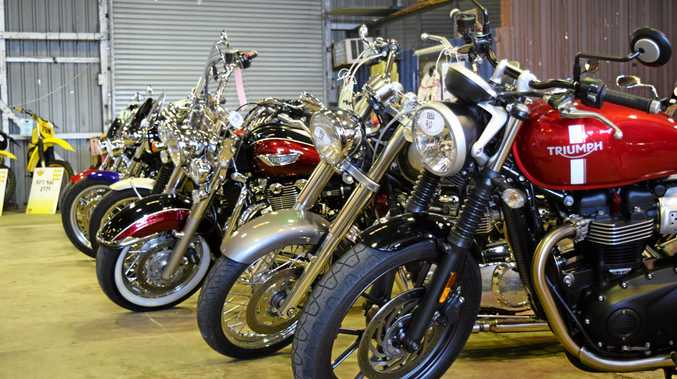 There was a bike for every year from 1912 until now at the 34th annual Mackay British Motorcycle Owners Association Bike Show in Mackay at the weekend.