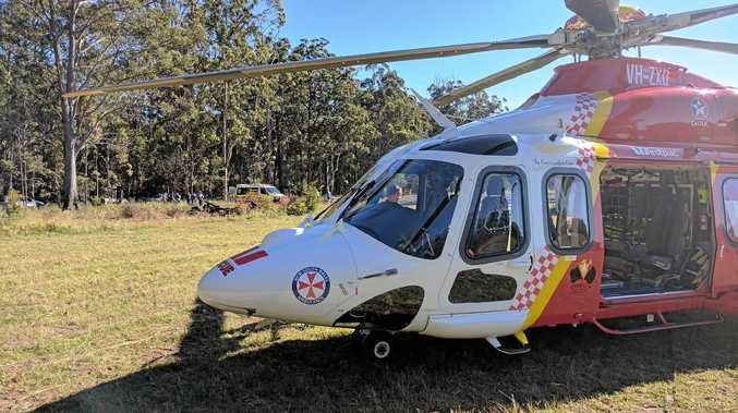 The Westpac Life Saver Rescue Helicopter was tasked by NSW Ambulance to attend a tractor roll over on a property east of Grafton.
