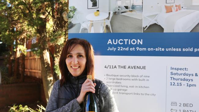 Tania Katsanis beat another couple of homeowners to secure the winning bid.