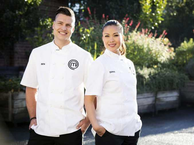 MasterChef Australia's 2017f finalists Ben Ungermann and Diana Chan will battle it out in Monday's grand final.