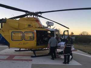 Lifeflight airlifts racer