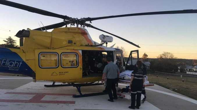 RACQ LifeLight helicopter has been tasked to two incidents this weekend.