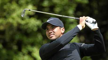 Australia's Jason Day plays off the 5th tee  at Royal Birkdale