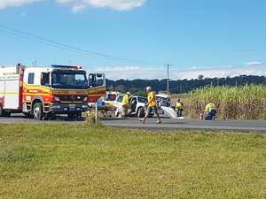 UPDATE: Two taken to hospital after Nikenbah crash