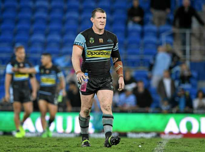 Cronulla skipper Paul Gallen has signed to play with the Sharks in 2018.