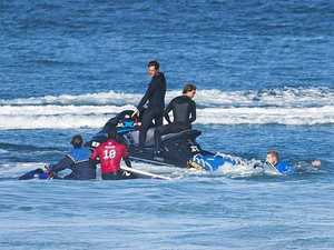 Fanning fends off concerns after second shark scare