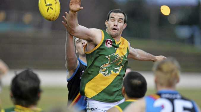 IN ACTION: David O'Toole plays for Goondiwindi.