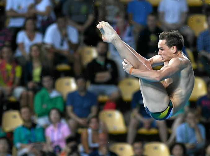 Australia's Domonic Bedggood just missed out on a place in the men's 10m platform final at the world swimming championships in Hungary.