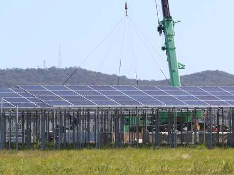 Pictures of the Sunshine Coast Solar Farm near Coolum.