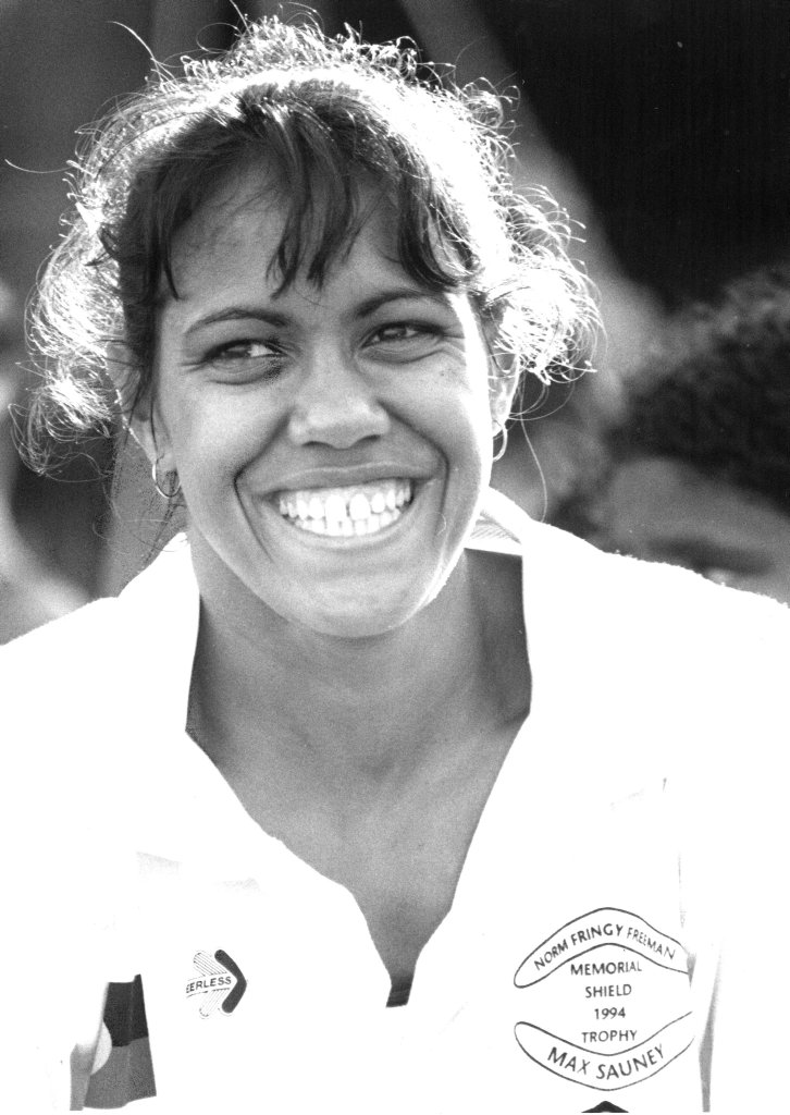 Cathy Freeman in 1996, four years before she won gold in Sydney.