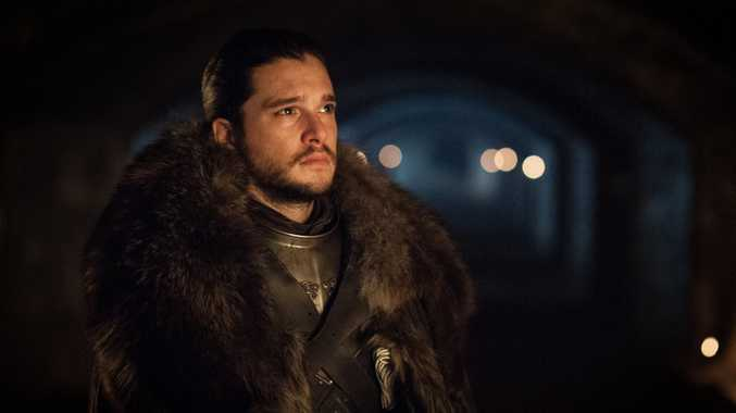 Kit Harington in a scene from season seven episode two of Game of Thrones.