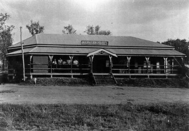 SURVIVOR: The Waratah Hotel, Mungungo in 1932. It is still in operation today.