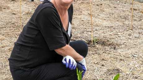 Springfield Lakes Nature Care Inc member Jill Bauer.