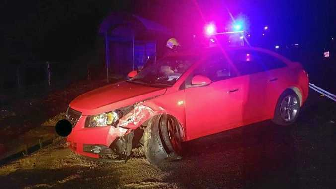 CAT-ASTROPHE: A cat caused a car crash at Sawtell on Saturday night.