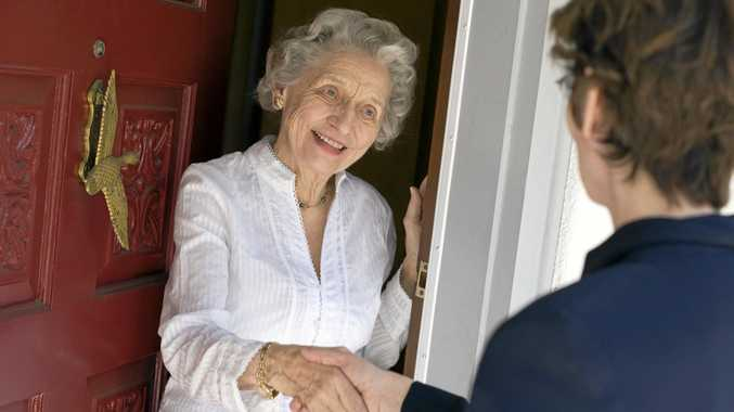 EMERGENCY SUPPORT: The NSW Police's free Next of Kin Program provides support for older Australians living alone at home.