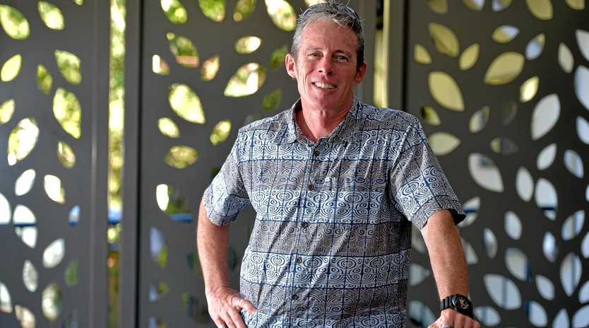 Pastor Tim Lovell uses Sunday message to apologise verses of the Bible he says have been wrongly interpreted have been used to condone domestic violence.