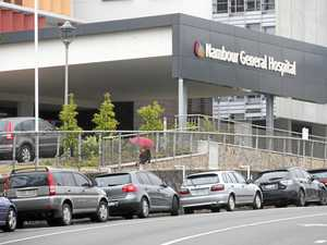 Crucial step in hospital parking move