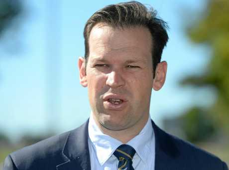 STEPPED DOWN: CQ-based Senator Matt Canavan stepped from his role as Resources Minister after suspicions were raised he may have held dual Italian citizenship.