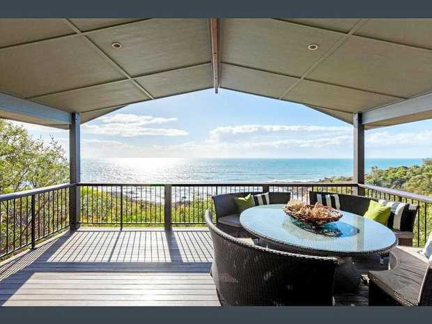 SPECTACULAR: This home on Springs Road, Agnes Water, is selling in the mid-$2 million range.
