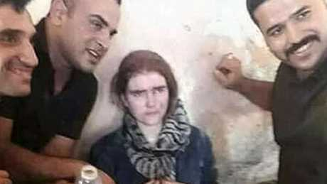 Schoolgirl Wenzel has reportedly admitted killing Iraqis during her time with the terror group. Picture: Enterprise Source:Supplied