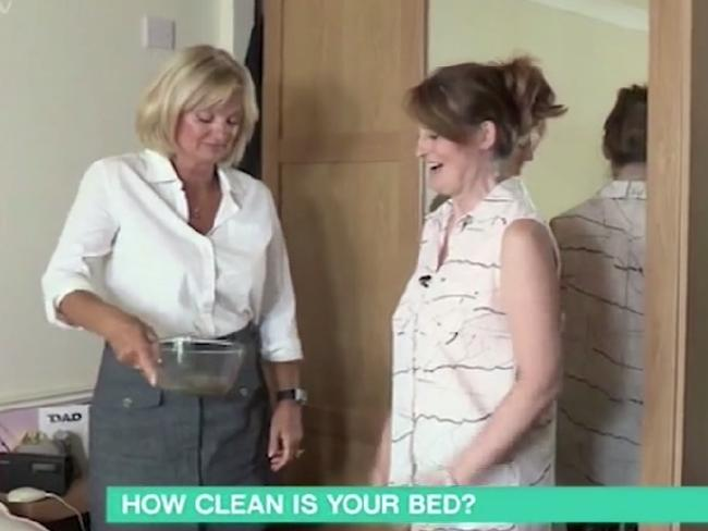 Brave Karen let consumer and hygiene experts into her home to check up on her beddingSource:Supplied