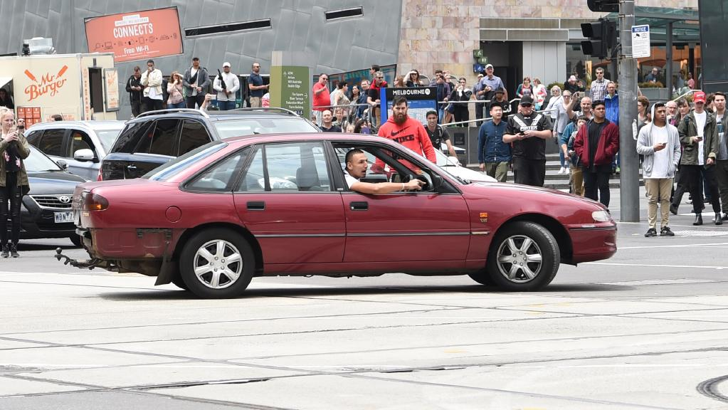 The crime-fighting list includes vehicle-mounted disruption devices that can stop vehicles – such as that driven to plough down pedestrians in Melbourne in January – in their tracks. Picture: Tony Gough