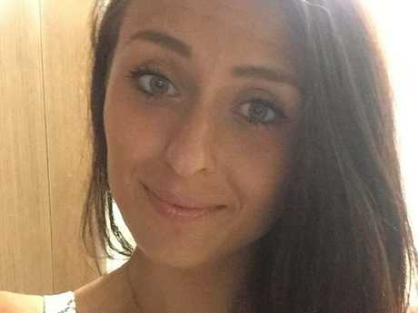 Katie Widdowson was injured after a sex game with her partner. Picture: FacebookSource:Facebook