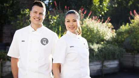 Ben Ungermann and Diana Chan face off in the MasterChef Australia final tonight.