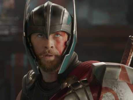 Thor (Chris Hemsworth) has a new look in the third film.Source:Supplied