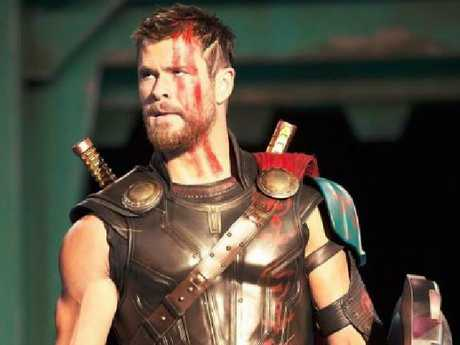 Chris Hemsworth as Thor in the new movie.Source:Gold Coast Bulletin