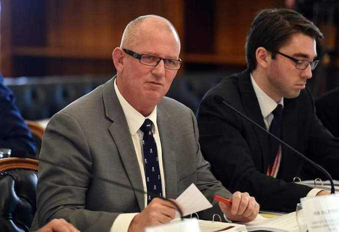 Queensland Agriculture Minister Bill Byrne