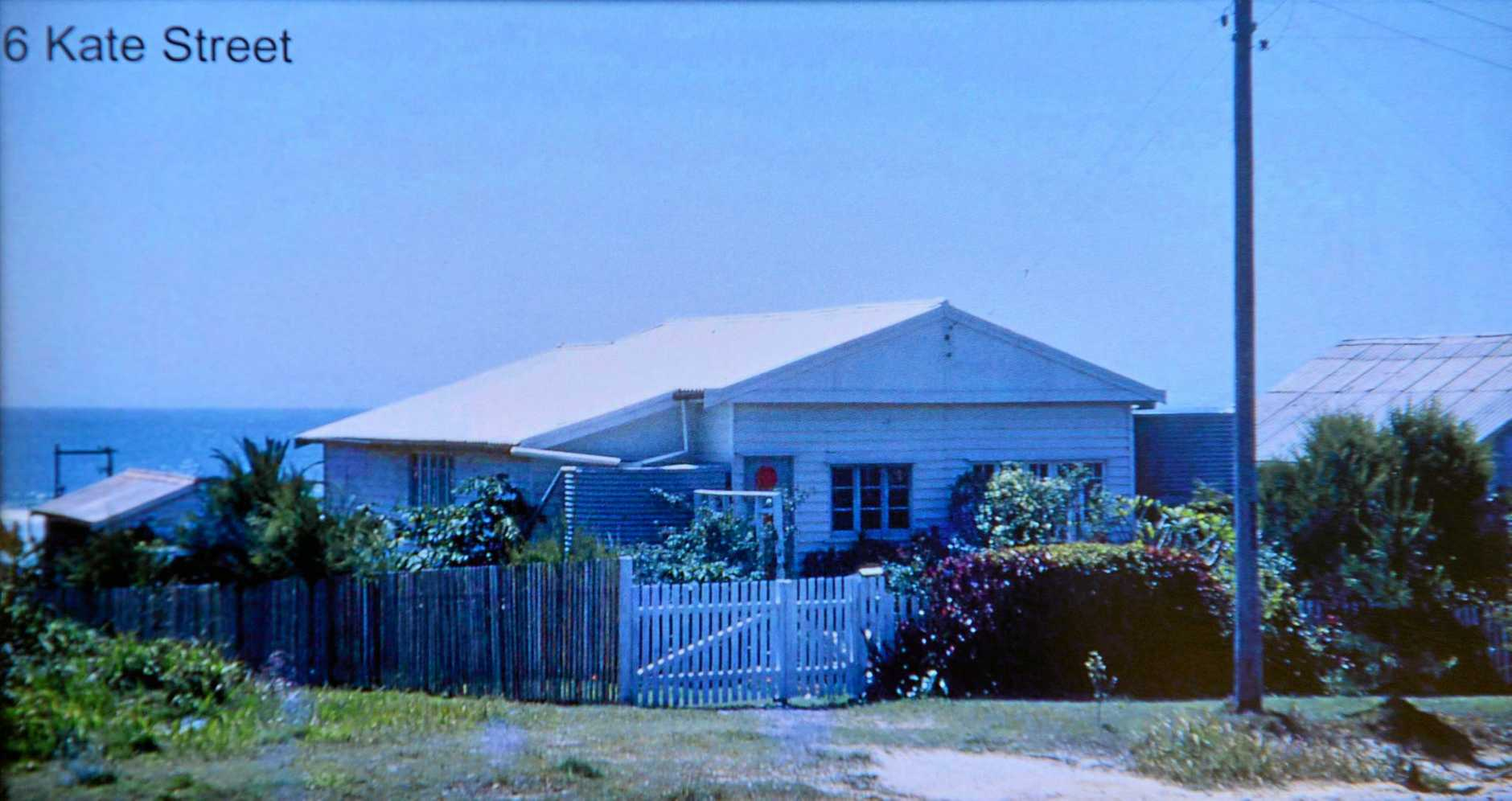 The Alexandra Headland house where Grace has lived since 1955.