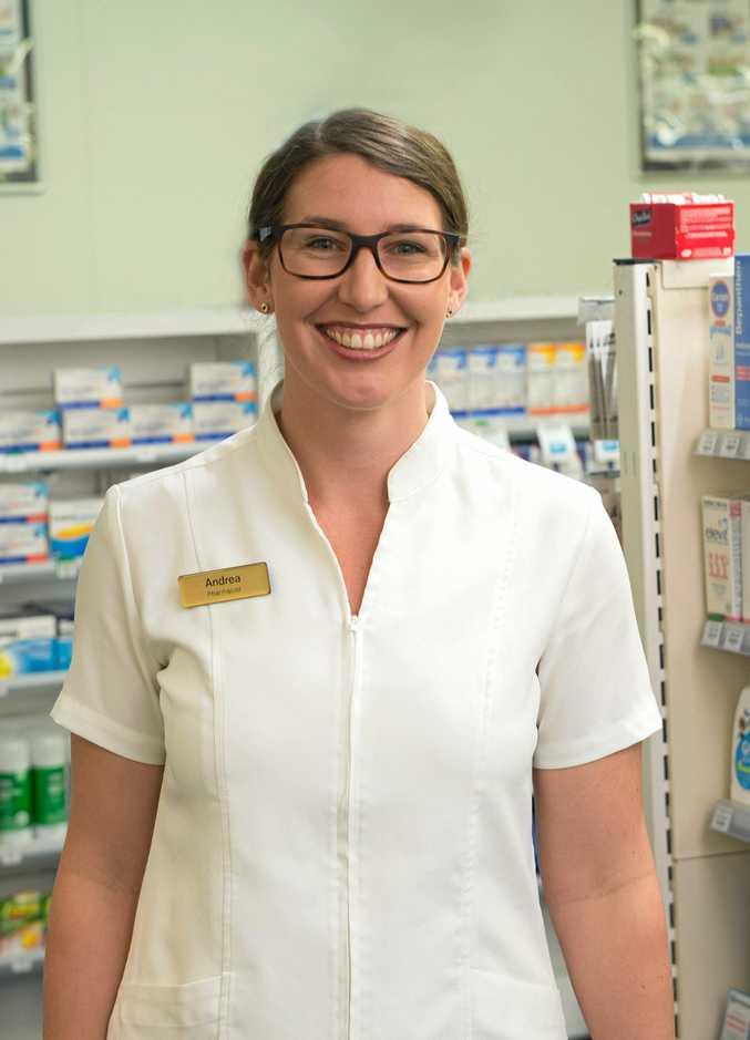 CARE: Woolgoolga Coastal Chemist pharmacist Andrea.