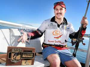 CATCHING A TROPHY: Dylan Fryer  will compete in the Bass Nation Championships in North Carolina in October.