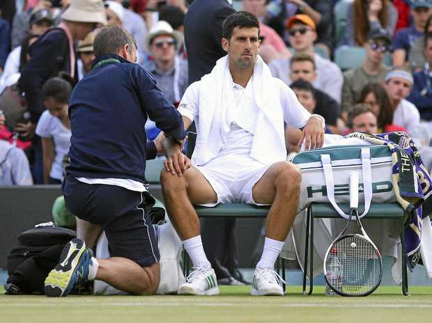 Elbow injury may rule Novak Djokovic out of US Open