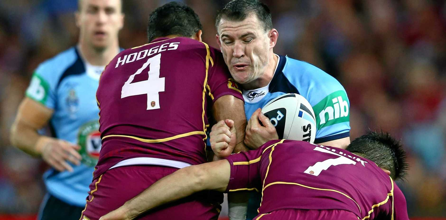 SPEAKING OUT: Former New South Wales captain Paul Gallen believes Phil Gould is the best man to turn the Blues camp around.