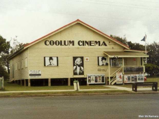 THE Coolum Community Hall in its original location on the David Low Way where McDonald's now stands. Photo: Blair McNamara.