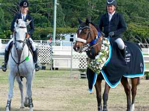 Raymont leaps to major showjumping win