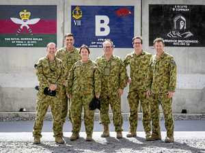 Pollies' fly-in visit to Afghanistan