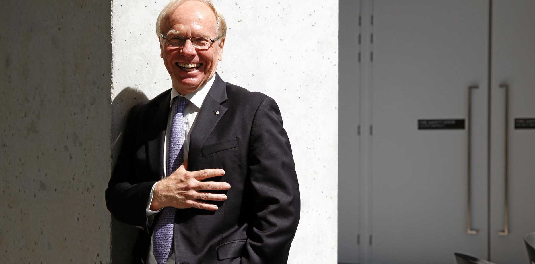 Gold Coast Commonwealth Games Organising Committee chairman and former Queensland premier Peter Beattie.