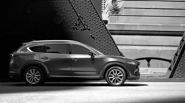 The new Mazda CX-8 has been revealed.