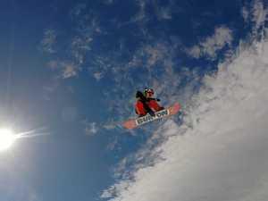 Coast's top snowboarder carves up Thredbo ice