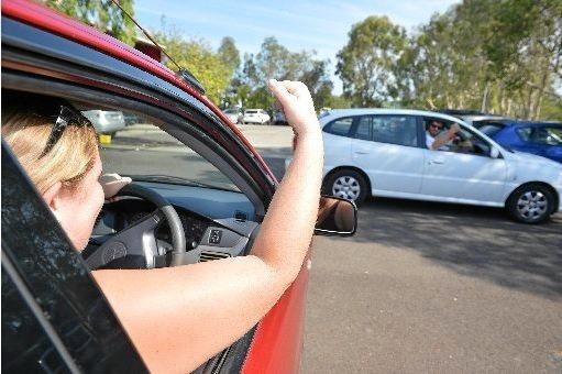 ROAD RAGE OUTRAGE: School parking lot no place for swearing, says court.