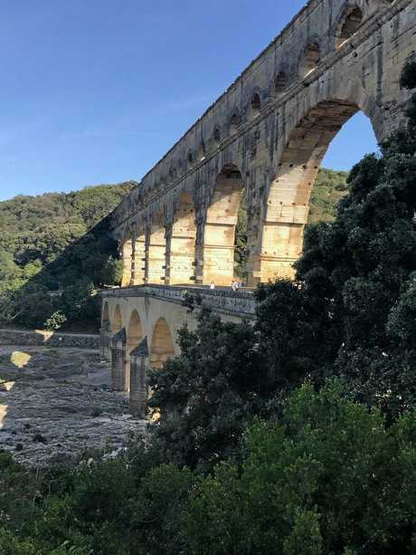 The majesty of the Pont du Gard.
