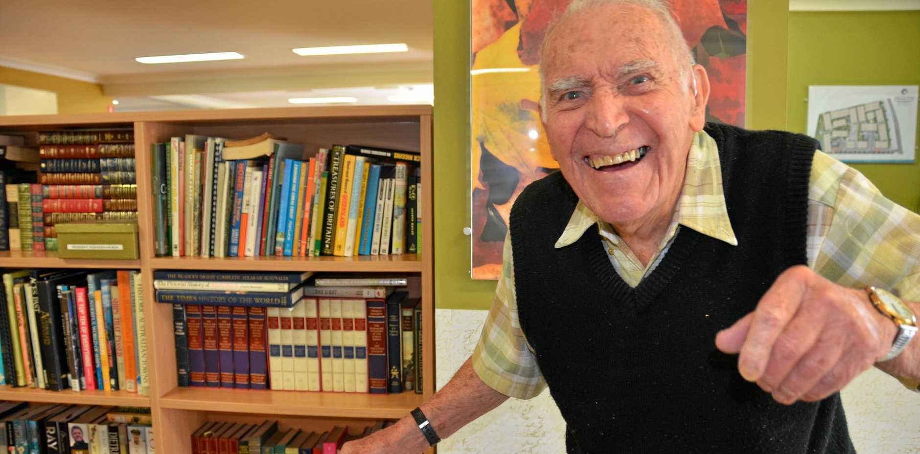 Arthur Rosbrook is an inspiration to everyone, young and old.